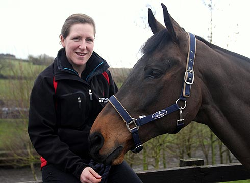 Fizz Marshall, equine therapy centre manager