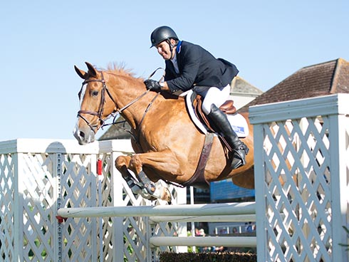 William Funnell riding Billy Onslow