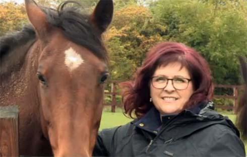 Skye is one of the horses being rehomed through ITV1 series Auf Wiedersehen My Pet