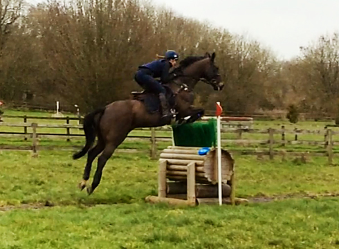 Rosie Fry and Another Breakfast cross-country schooling