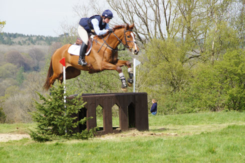 Sophie Jenman and Fedorian at South of England 2014