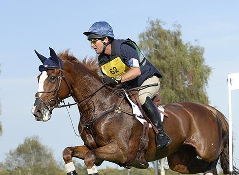Phillip Dutton riding Mr Medicott