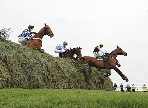 Jumping The Chair at Aintree