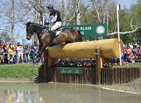 William Fox-Pitt riding Bay My Hero at Rolex Kentucky