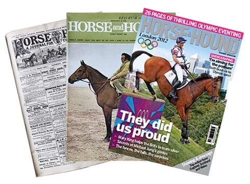 Horse & Hound covers across the years