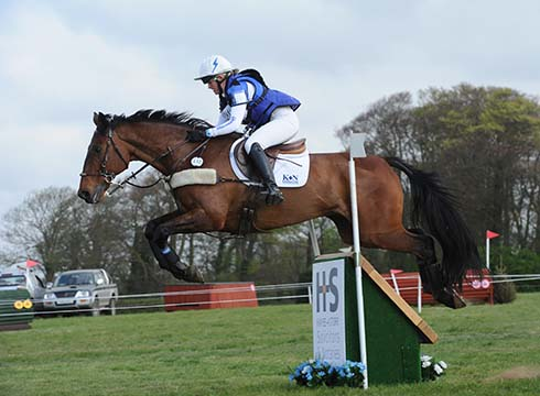 Sarah Cohen riding Treason in the CIC3* at Burnham Market 2014