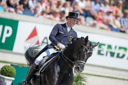 Matthias Rath (GER) & Totilas - CDIO5* Grand Prix - Preis der Familie Tesch - Deutsche Bank Stadium - CHIO Aachen 2014 - Aachen, NRW, Germany - 17 July 2014