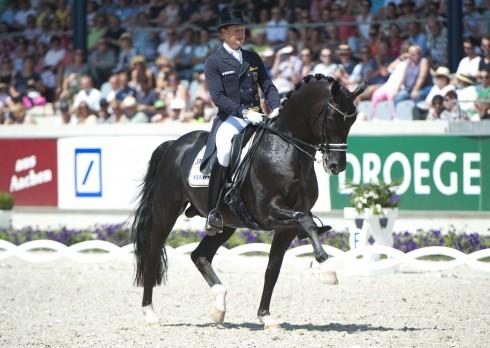 Matthias Rath riding Totilas