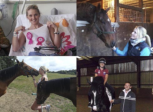 Showing Suzanna Hext's recovery across two years