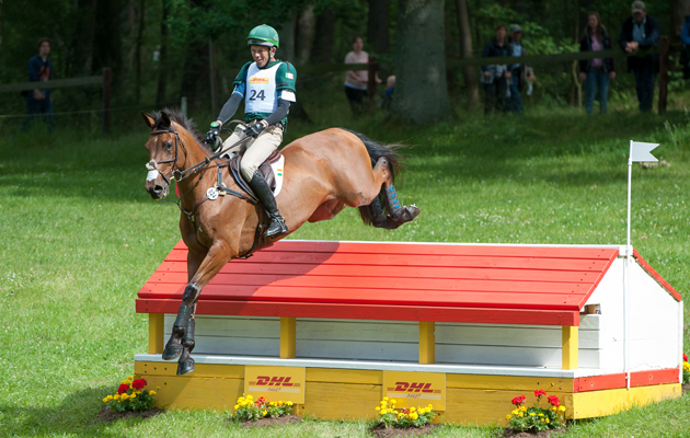 Action from Luhmuhlen Horse Trials