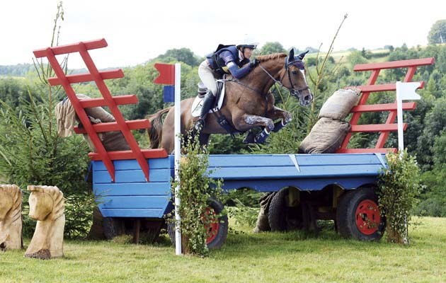 Aoife Clark on Fenyas Elegance 1st Advanced Gatcombe 2-8-14