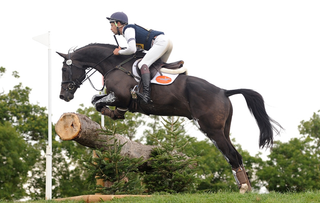 Christopher Burton enjoys a stellar week, taking the spoils in both the CIC3* and the CCI*