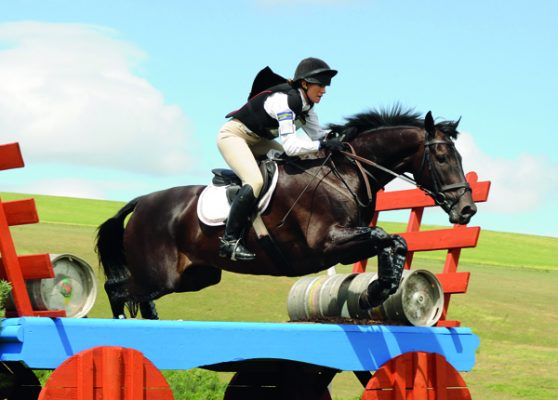 Having an understanding husband has allowed Lottie to combine eventing, working and marriage