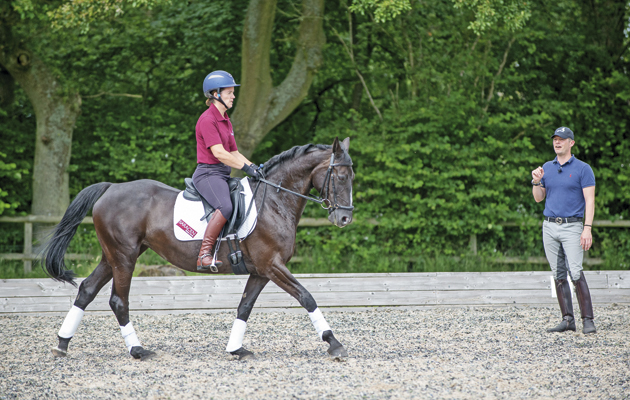Spencer Wilton dressage clinics