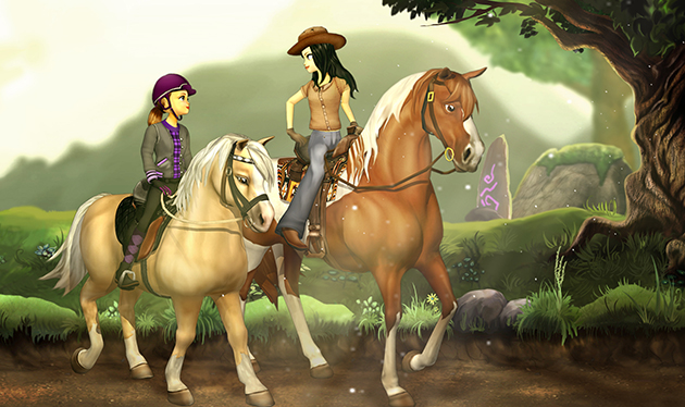 horse rider hd wallpapers