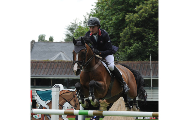 RDS Show Friday 08.08.14 Nations Cup Spencer Roe (GB) on Wonder Why