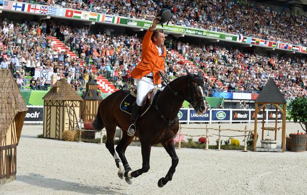 Jeroen Dubbledam, World equestrian games individual jumping gold medallist