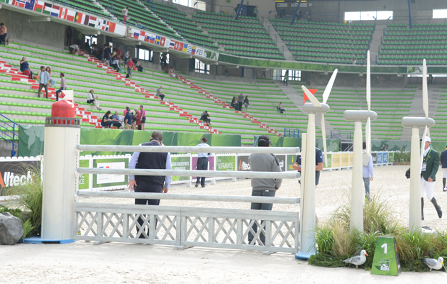 How to walk a showjumping course like a pro