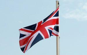 British Flag Great Britain Union Jack