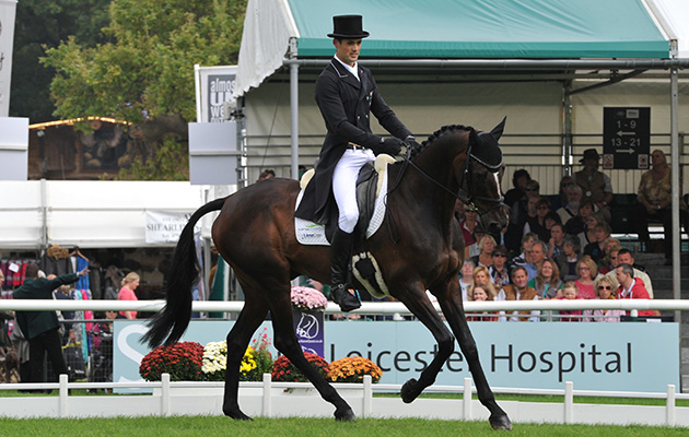 Jock Paget riding Clifton Promise at Burghley 2014