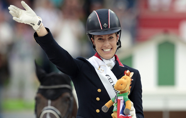 Charlotte dujardin and lucinda green win equestrian safety for Charlotte dujardin
