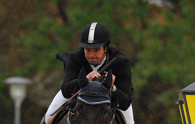 British showjumper Nick Channing-Williams