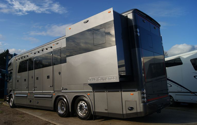 c8e1140b5860bf If Carlsberg made horseboxes...  PICTURES  - Horse   Hound
