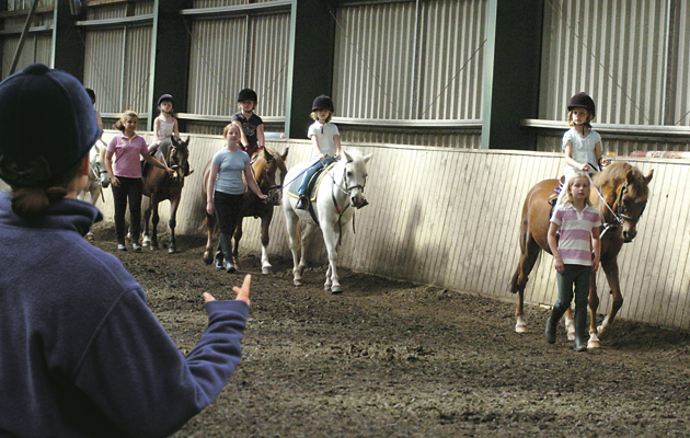 prepare for your first riding lesson