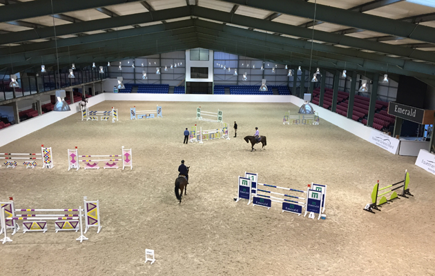 9 things riders quickly realise when competitions move indoors