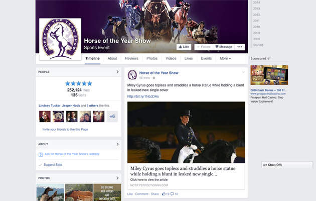hoys facebook account hacked