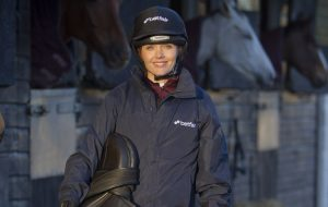 From peddle power to horse power – Victoria Pendleton starts her challenge with Betfair to become a jockey.