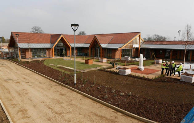 The Injured Jockey Fund's Jack Berry House nears completion
