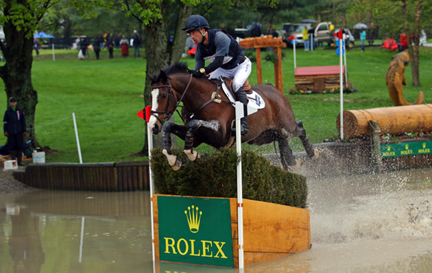 Tim Price and Wesko at Rolex Kentucky 2015. Picture by Julia Shearwood
