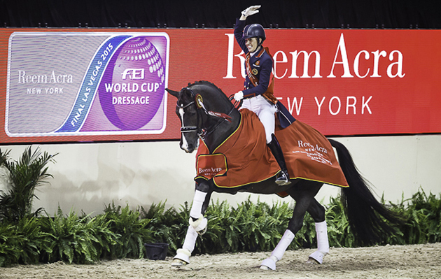 Grand Prix Las Vegas >> Charlotte Dujardin and Valegro crowned World Cup champions [VIDEO] - Horse & Hound
