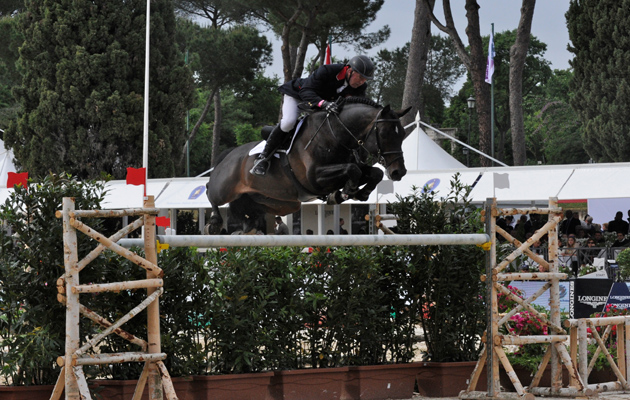John Whitaker and Argento Rome Nations Cup 2015