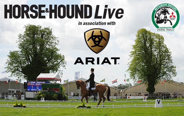 Badminton Horse Trials live