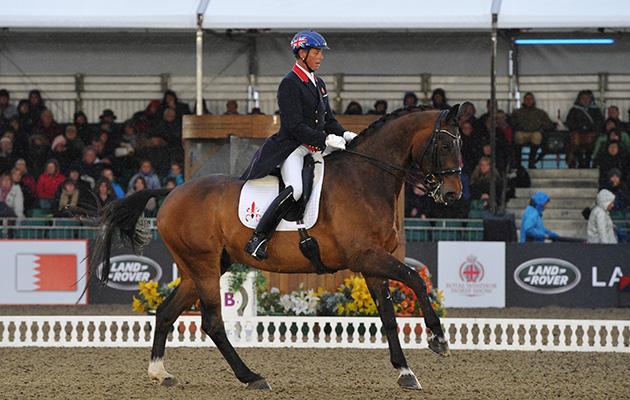 Windsor Horse Show Thursday 14.05.15 Dressage winner Carl Hester on Nip Tuck