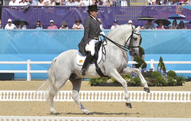 new dressage championship for spanish horses