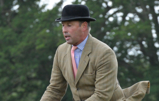 Show judge Richard Mills. picture taken at Hickstead in 2012