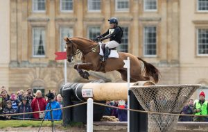 Pippa Funnell (GBR) & Redesigned - Cross Country - Mitsubishi Motors Badminton Horse Trials - CCI4* - Badminton, Gloucestershire, United Kingdom - 09 May 2015