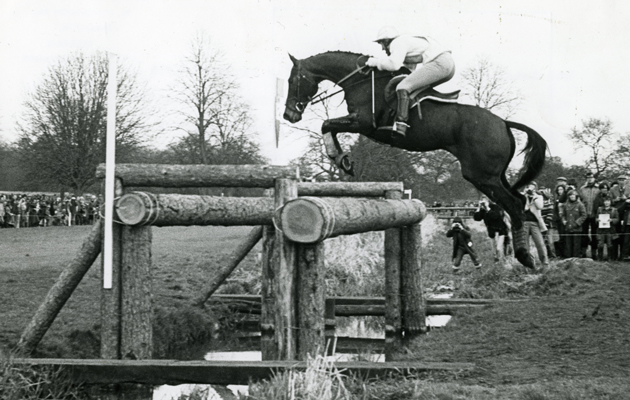 Lucinda Green and Village Gossip badminton 15 April 1978