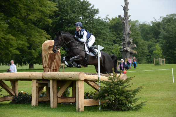 Nicola Wilson and Annie Clover at Bramham 2015. Picture by Peter Nixon