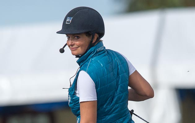 Anna Ross Davies Freestyle Demonstration - Espayo National Dressage Championships 2013 - Stoneleigh Park, Warwickshire, United Kingdom - 21 September 2013
