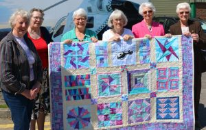 fundraising quilt for the air ambulance
