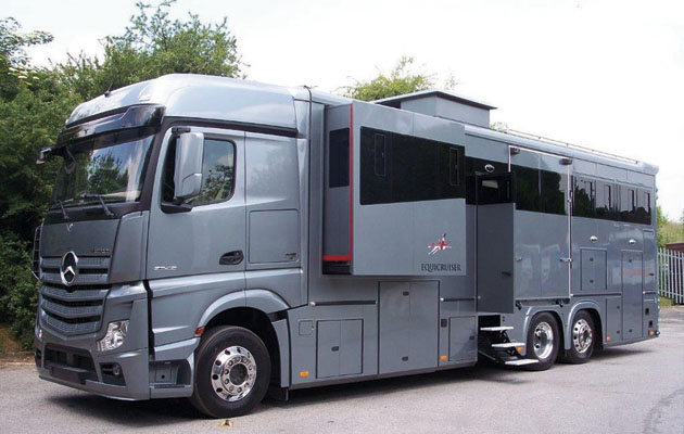 Pictures 5 Luxurious Horseboxes Ideal For Long Haul
