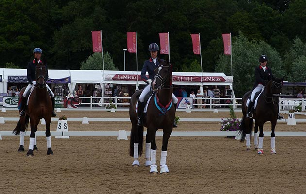 Picture courtesy of Hartpury College facebook page