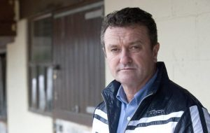 Robert Smith at home, Brook Furlong Farm, Warwickshire, United Kingdom. 09 February 2011