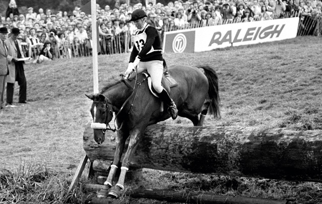 Princess Anne Her Equestrian Career In Pictures