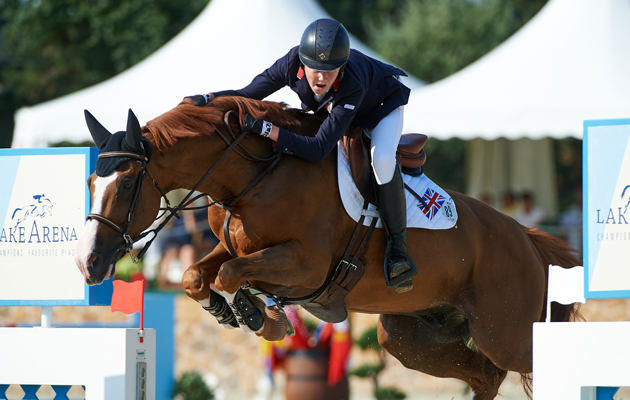 Medals for british showjumpers at youth europeans horse for Dujardin herve