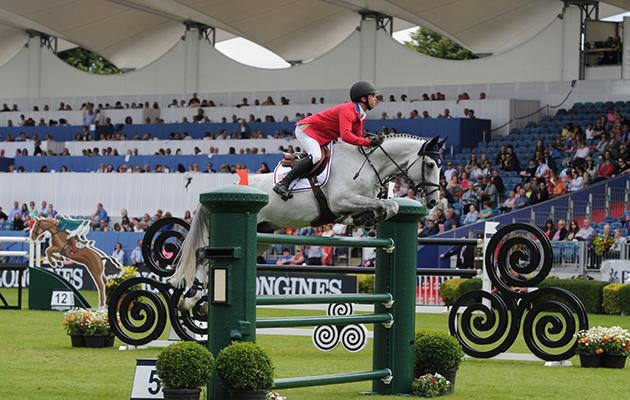Kent Farrington riding at Dublin grand prix